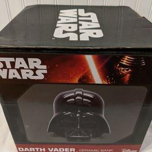 Darth Vader Ceramic Bank